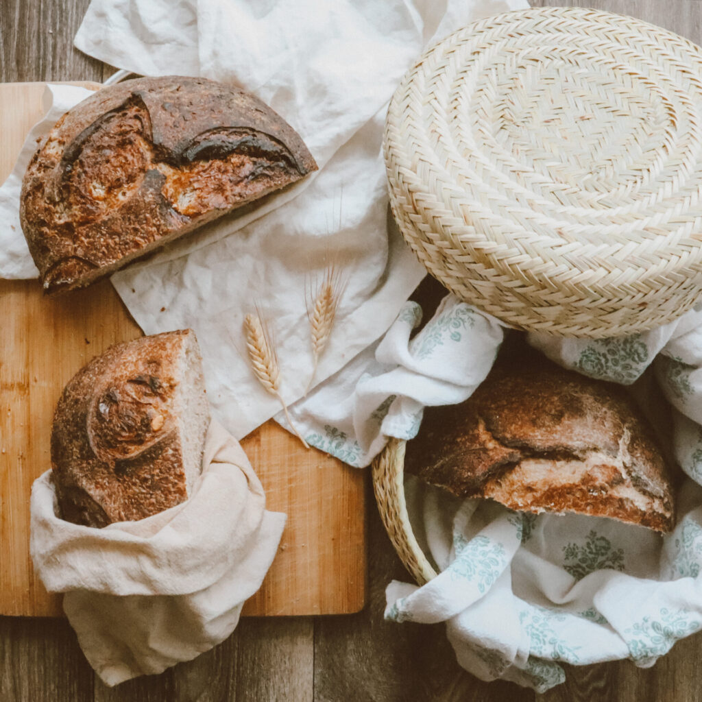 Zero waste plastic free bread storage