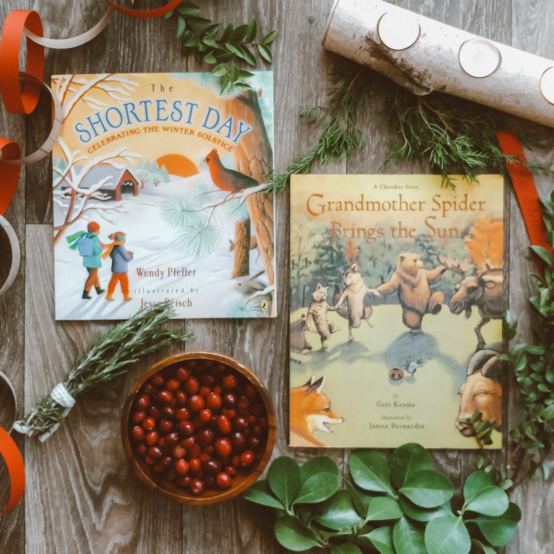 Children's books for winter solstice